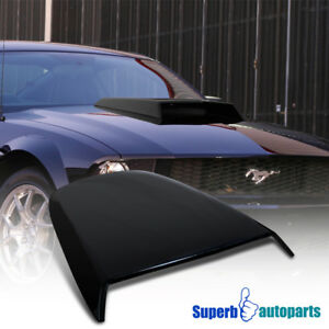 2005 2009 Ford Mustang Gt V6 Abs Racing Hood Scoop Vent Black