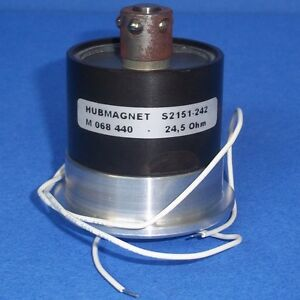 Hubmagnet 24 5 Ohm M 068 440 Rotary Solenoid S2151 242 pzf