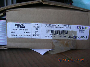 3m Flat Cable 3365 Series 100 Pn 80 6100 5997 6