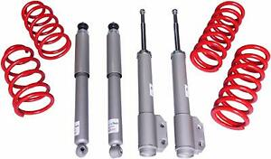Touring Tech Performance Shocks Lowering Springs 94 04 Ford Mustang