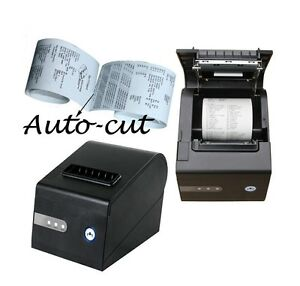 Pos Thermal Receipt Kitchen 3 1 8 Inch Printer Print Auto Cutting Cut Autcut Usb