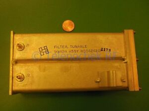 Rf If Microwave Bandpass Tunable Filter 225 450mhz 1mhz 1db Bw Data
