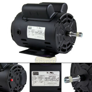 2 Hp Horse Power Single Phase Heavy Duty Electric Compressor Motor