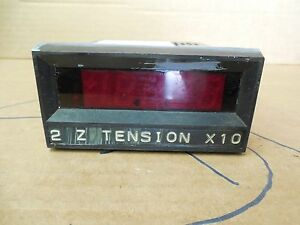 Simpson Digital Panel Meter Model 2842 200mv 200 Volt 120 Vac 200ma 4 20ma