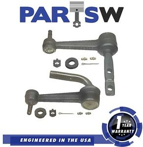 2 Idler Arms For Gmc Chevy Astro Van 2wd 90 05 Lh Rh 1 Year Warranty