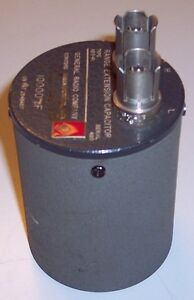 General Radio Genrad 1615 p1 Range Extension Capacitor 10000 Pf For 1615 Bridge