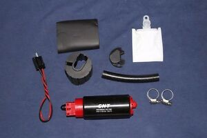 Racing 255lph High Flow Fuel Pump Install Kit Replace Gss 342 E85 Ready
