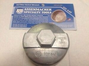 Oil Filter Socket Wrench For Toyota 640 Original Made In Usa