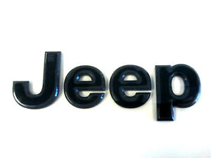 Jeep Grand Cherokee Blacked Out High Altitude Grille Emblem Oem 68193400 Aa