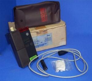 National Draeger Ecolyzer 4520061 Oxygen Monitor W Case Cable Nib