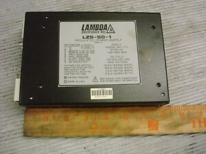 Lambda Regulated Power Supply Lzs 50 1 nos