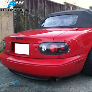 For 90 97 Mazda Miata Rear Bumper Lip Spoiler Bodykit Rs style Urethane