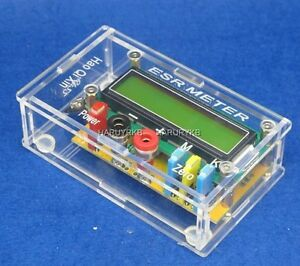 Capacitor capacitance Esr In circuit Inductance Resistance Meter Lc Meter Case