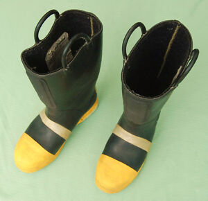 Thorogood Firefighter Steel Toe Mid sole Boots Size 10