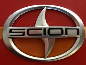 Genuine Scion Next Generation Xb 2007 2013 Front Radiator Grille Emblem Oem New
