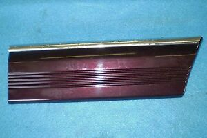 1989 1995 Dodge Spirit Plymouth Acclaim Front Fender Molding Trim Oem New Nos