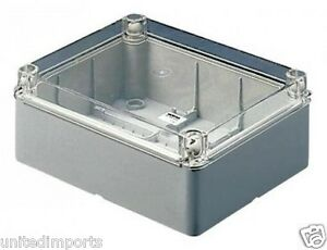 Gewiss Gw44429 Junction Boxes Electric Equip W clear Lid Ip56 300x220x120mm