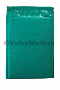 500 000 Green Poly Bubble Mailers Envelopes Bags 4x8 Extra Wide Colors 4 5