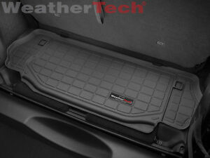 Weathertech Cargo Liner Trunk Mat For Jeep Wrangler 2007 2014 Black