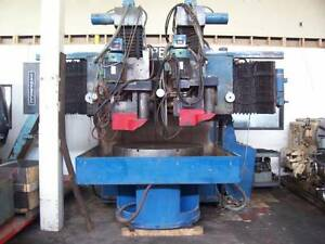 48 Campbell No As4860 16d Swing 60 1983 dual Spindle Vertical Grinder