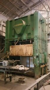 Clearing 350 Ton Straight Side Press