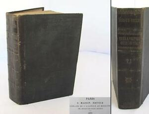 1892 Antique French Medical Book Therapeutic Surgery