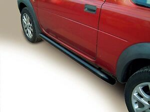Genuine Factory Land Rover 2002 2005 Freelander Black Protection Side Tube Bar
