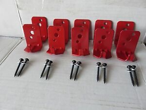 Lot Of 10 universal Wall Mount 5 10 Lb Size Fire Extinguisher Bracket New
