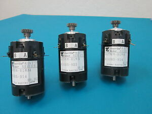 Lot Of 3 Yaskawa Electric Minertia Motor Mini Series Ugtmem 01mb4