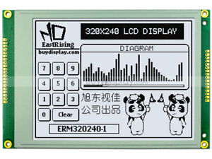 5 7 white 320x240 Graphic Lcd Module ra8835 sed1335 optional Touch Panel