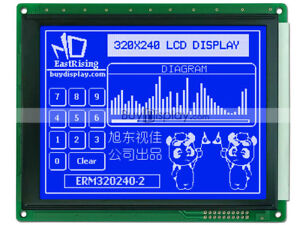 5 7 blue 320x240 Graphic Glcd Lcd Module W ra8835 sed1335 optional Touch Panel