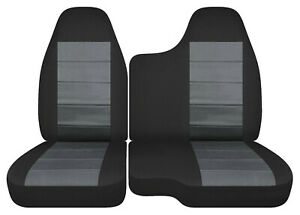 60 40 35 Bench Seat Black charcoal Car Seat Covers Fits 98 03 Ford Ranger