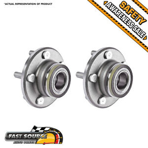 2 New Front Wheel And Hub Bearing Assembly 300 Challenger Charger Magnum Rwd 2wd