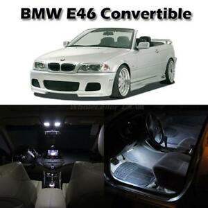 12 White Led Interior Light Full Set Package For Bmw E46 Convertible 1999 2005