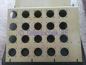 Teledyne Microwave Rf Switch Panel Matrix Blank