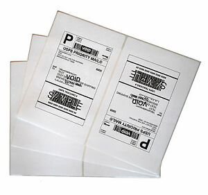 Labels 8 5x5 5 4000 Shipping 8 5x5 5 Half sheet Self Adhesive Vm Brand Labels