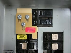 Cch 100 Crouse Hinds Generator Interlock Kit 100 Amp Panel