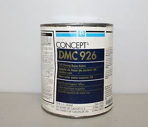 Ppg Concept Dmc 926 Red Shade Organic Yellow 2k Mixing Base Toner Paint Toner Qt