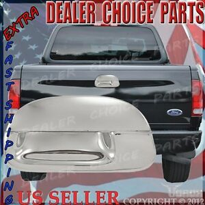 1997 1998 1999 2000 2001 2002 2003 Ford F150 Chrome Tailgate Handle Cover No Kh