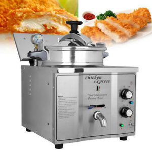 Commercial 16l Electric Pressure Fryers Chicken Meat Fish Vegetable Cooking
