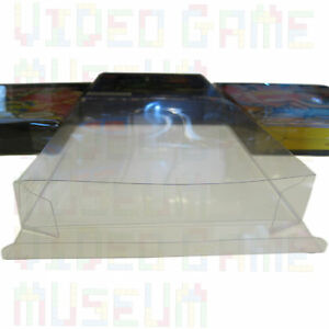 5 Custom Clear Plastic Box Protectors Archival Case Sleeves for NES Boxed Games $9.95
