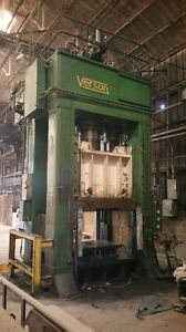 Verson 1050 Ton Double Acting Hydraulic Press 1050 hd2d 78 4t