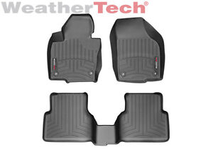 Weathertech Floor Mats Floorliner For Volkswagen Tiguan 2009 2017 Black