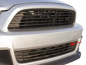 2013 2014 Ford Mustang Gt V6 Roush Front Lower Grille With Bars 421496