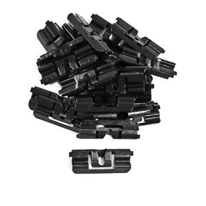 1979 1993 Mustang Lx Gt Hatchback Rear Window Glass Molding Retainer Clips 22 Pc