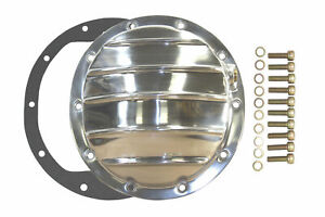 Polished Aluminum Chevy Gm 10 Bolt Differential Cover For 8 5 Inch Ring Gear