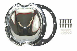 Chrome Steel Chevy Gm 10 Bolt Differential Cover For 8 2 Inch Ring Gear