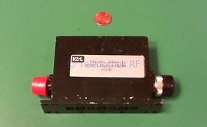Rf If Microwave Bandpass Filter 1 201 Ghz 32 Mhz Bw Power 5 Watt Cw Data