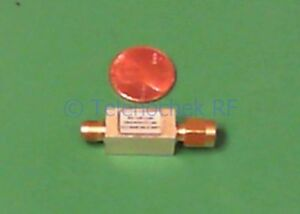 Rf If Microwave Bandpass Filter 2 380 Ghz 260 Mhz Bw Power 1 Watt Cw Data