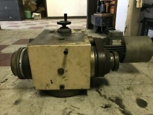 Cylindrical Grinder Workhead 50 Taper For Tschudin Ht4 410